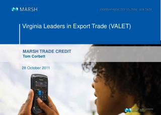Virginia Leaders in Export Trade (VALET)