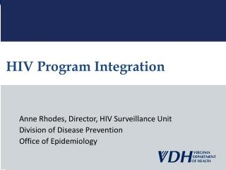 HIV Program Integration