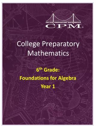 College Preparatory Mathematics