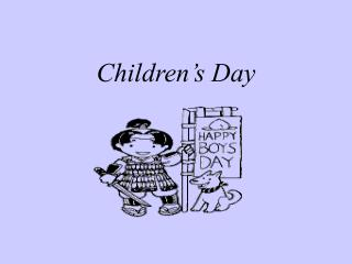 Children�s Day