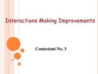 Contestant No. 3