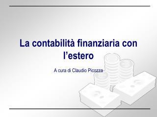 La contabilit� finanziaria con l�estero