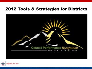 2012 Tools & Strategies for Districts