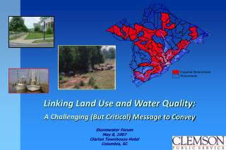 Stormwater Forum May 8, 2007 Clarion Townhouse Hotel Columbia, SC