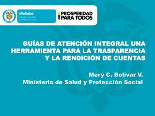 GUÍAS DE ATENCIÓN INTEGRAL UNA HERRAMIENTA PARA LA TRASPARENCIA Y LA RENDICIÓN DE CUENTAS
