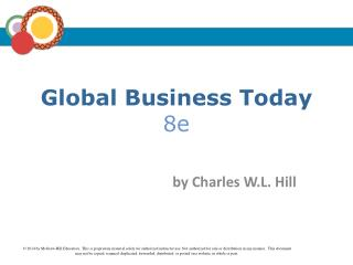 Global Business Today 8e