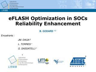 eFLASH Optimization in SOCs Reliability Enhancement