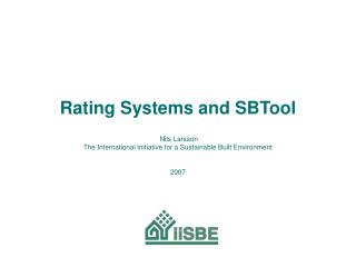 Performance Rating Systems