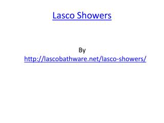 Lasco Showers