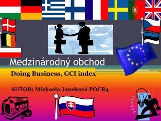 Medzinárodný obchod