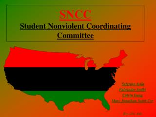 SNCC Student Nonviolent Coordinating Committee