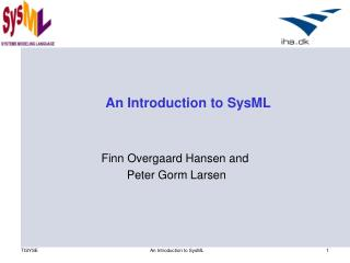 An Introduction to SysML
