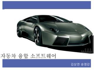 자동차 융합 소프트웨어