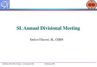 SL Annual Divisional Meeting