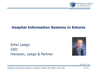 Hospital Information Systems in Estonia