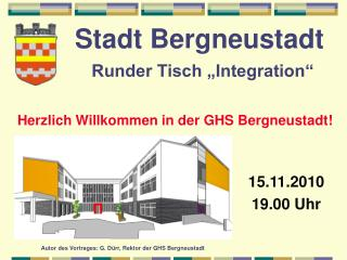 """Stadt Bergneustadt Runder Tisch """"Integration"""""""