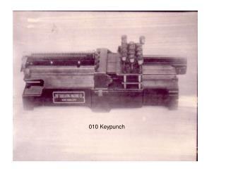 010 Keypunch