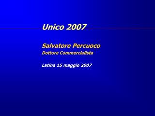 Unico 2007