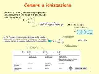 Camere a ionizzazione