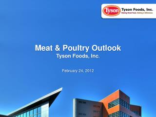 Meat & Poultry Outlook