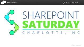 SharePoint Saturday Charlotte