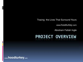 Tracing  the Lives That Surround Yours  hoodturkey   Abraham Fattah Ingle