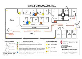 MAPA DE RISCO GESTÃO 2003 / 2004