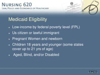 Medicaid Eligibility