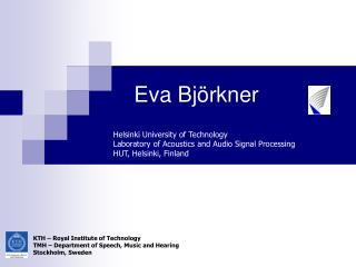 Eva Björkner