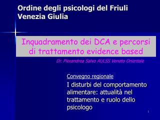 Ordine degli psicologi del Friuli Venezia Giulia