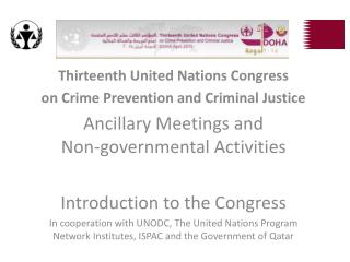 Thirteenth United Nations Congress on Crime Prevention and Criminal Justice