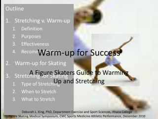 Warm-up for Success