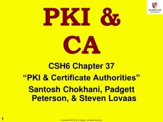 PKI & CA