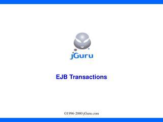 EJB Transactions