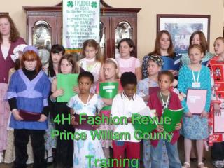 4H  Fashion Revue Prince William County
