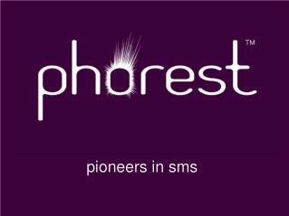 pioneers in sms