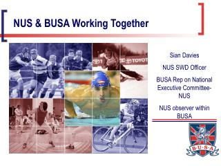 NUS & BUSA Working Together