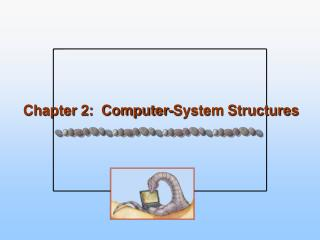 Chapter 2:  Computer-System Structures
