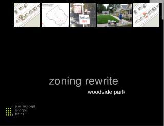 zoning rewrite