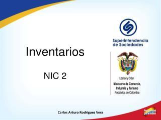 Inventarios NIC 2