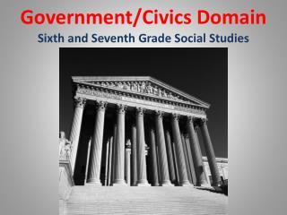 Government/Civics Domain