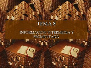 TEMA 8 INFORMACION INTERMEDIA Y SEGMENTADA
