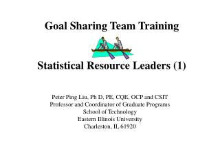 Goal Sharing Team Training Statistical Resource Leaders (1)