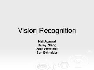 Vision Recognition