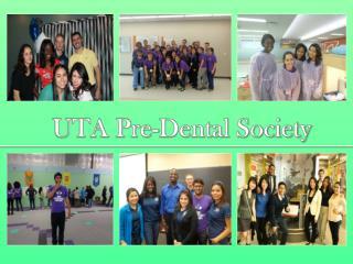 UTA Pre-Dental Society