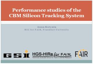 Performance studies of the CBM Silicon Tracking System