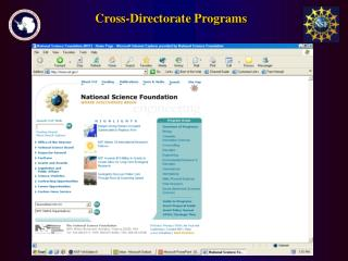 Cross-Directorate Programs
