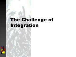 The Challenge of Integration
