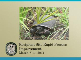 Recipient Site Rapid Process Improvement  March 7-11, 2011