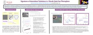 Signatures of Intermittent Turbulence in  Hinode Quiet Sun Photosphere